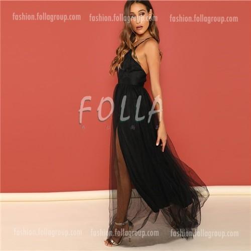 Women's Black Evening Dress