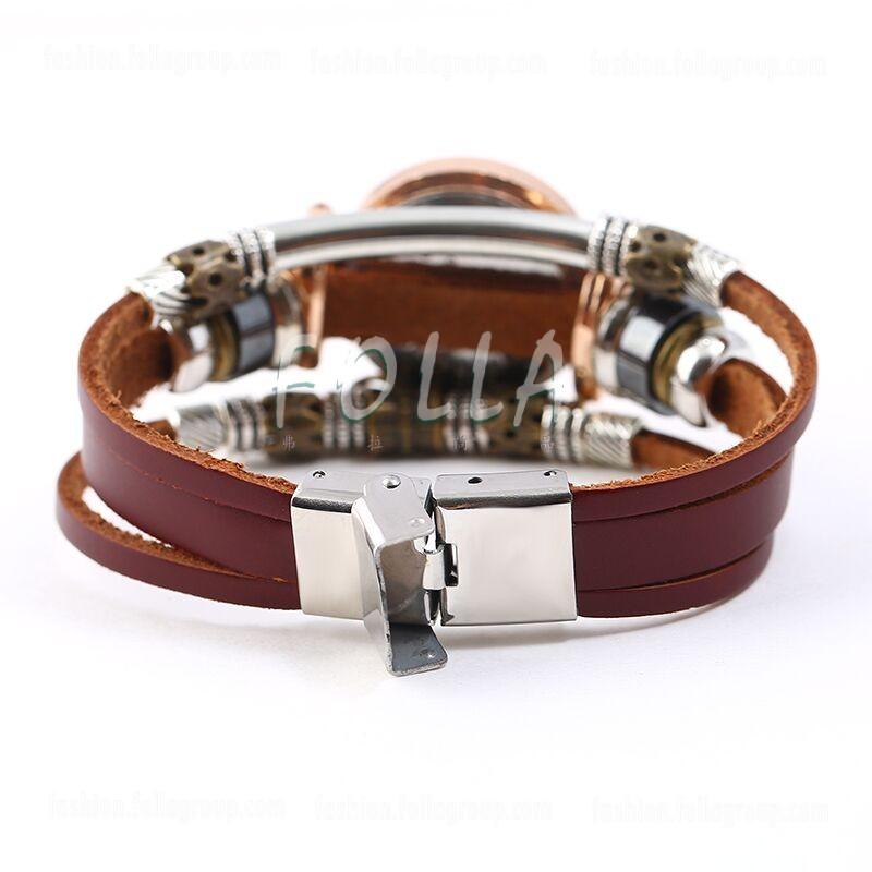 Women's Triple Bracelet Boho Watch