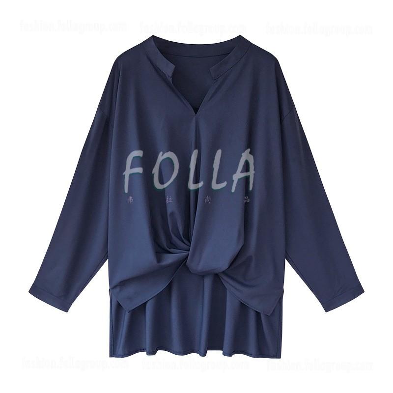 Women's Chiffon Loose-Fit Business Shirt